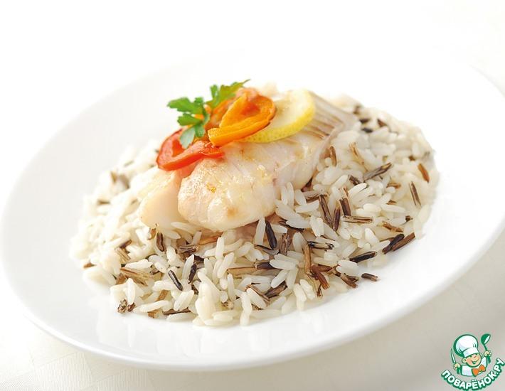 Рецепт: Тилапия с рисом