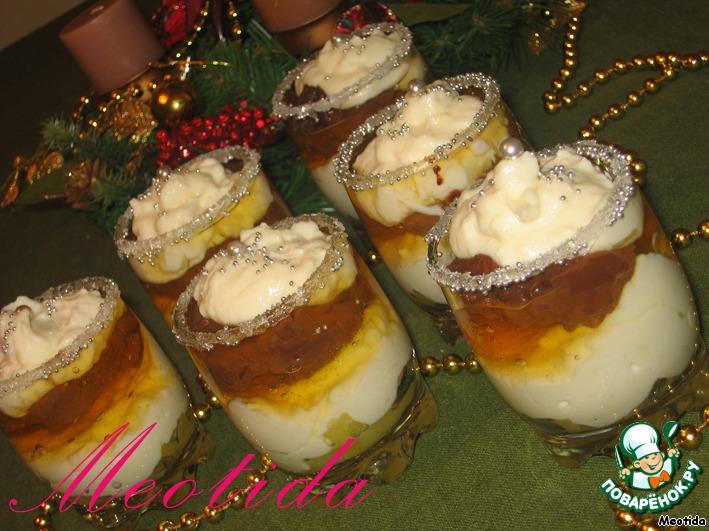 Десерт Новогодние искры