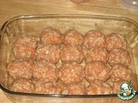 Мясные ежики в духовке ингредиенты