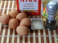 Нежные котлеты из яиц ингредиенты