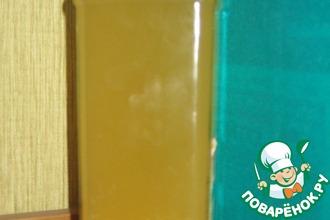 Рецепт: Настойка имбирно-медовая для пап