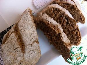 Рецепт Быстрый бездрожжевой хлеб из трех ингредиентов