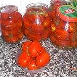 Квашеные помидоры за 2 дня