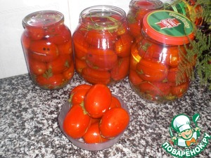 Рецепт Квашеные помидоры за 2 дня