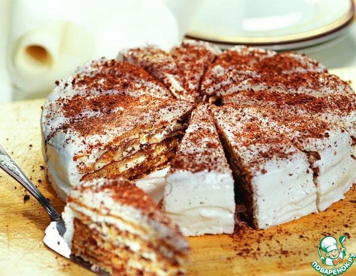 Рецепт: Итальянский ореховый торт