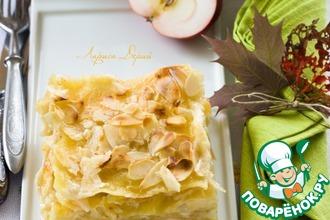 Рецепт: Десертная лазанья