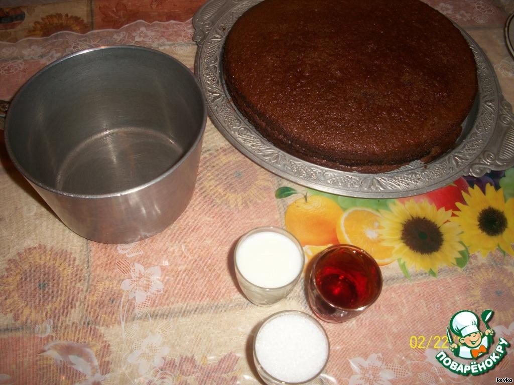 """Торт """"Пражский праздничный"""""""