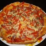 Быстрая и вкусная пицца на сковородке