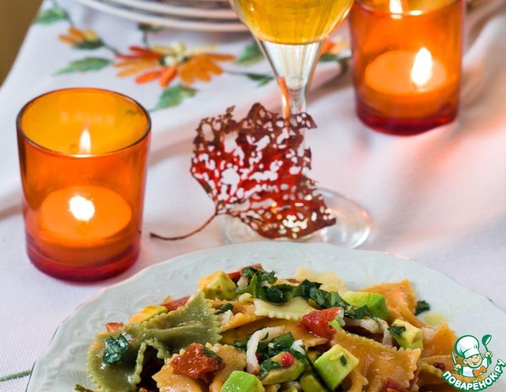 Рецепт: Салат Осень в Италии
