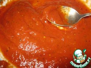 Рецепт Настоящий итальянский соус для пиццы и не только