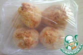 Рецепт: Сырники с кокосовой стружкой запеченные и замороженные