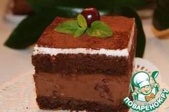 Рецепт: Пирожное Черный лес