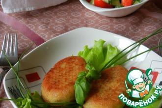 Рецепт: Картофельно-рыбные котлеты