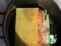 Шницель-лазанья с томатами и цуккини ингредиенты