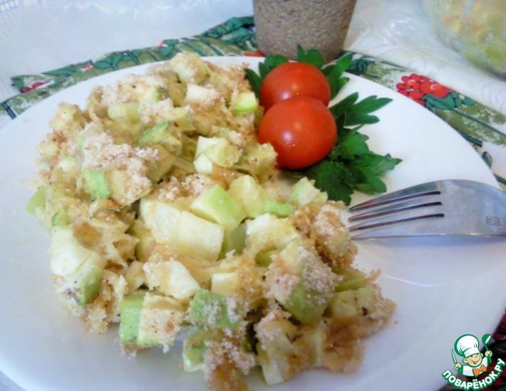 Рецепт: Запеченные кабачки Соло