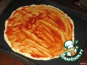 Пицца по-быстрому – кулинарный рецепт