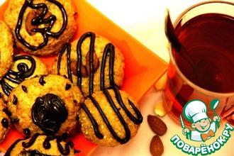 Рецепт: Миндально-кунжутное печенье