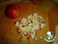 Овсянка, запеченная с яблоками ингредиенты