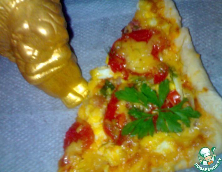 Рецепт: Пицца для всей семьи