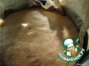 Пирог.    Яйца с сахаром и ванилином взбить в густую пену (взбивать примерно 10 мин на высокой скорости). Муку просеять с разрыхлителем и солью и акуратно вмешать в яичную массу. Отложить несколько ложек теста в посуду с растопленным сливочным маслом и акуратно перемешать. Затем всё это вылить обратно в тесто и, также, не взбивая, перемешать до получения однородной массы. Если этого не сделать, а сразу влить растопленное масло во взбитое бисквитное тесто, то под тяжестью масла оно осядет.    Выложить массу поверх абрикос и выпекать в разогретой до 160С духовке 25-35 мин ( в моей духовке больше часа), проверяя на готовность спичкой, до золотистого цвета.
