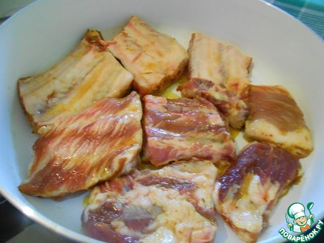 ребрышки в медовом соусе старинный рецепт