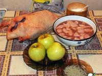 Утка, фаршированная индейкой ингредиенты