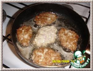 """Куриные котлеты """"Нежность"""" – кулинарный рецепт"""