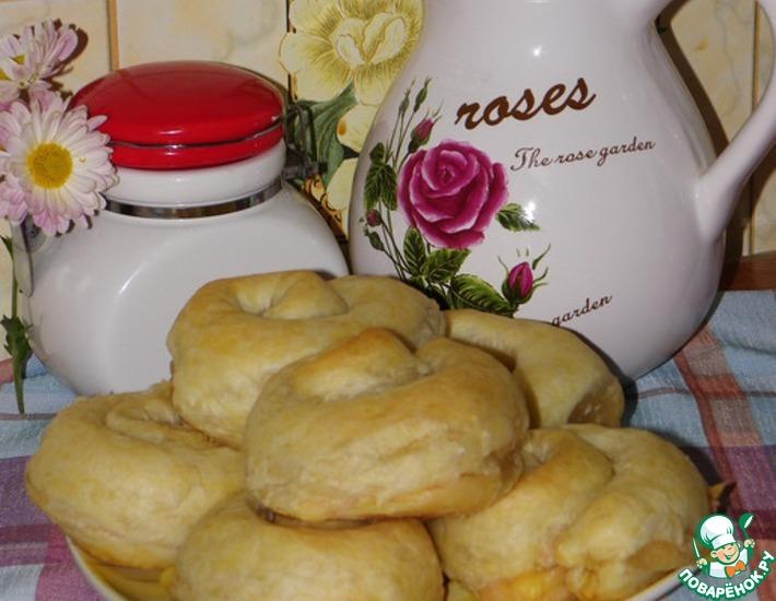 Рецепт: Слоеные булочки-улитки
