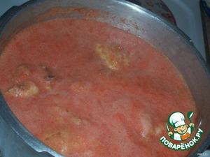 Чихирта из курицы, с помидорами и яйцом – кулинарный рецепт