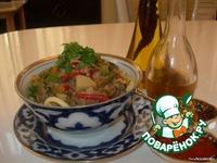 Настоящий уйгурский лагман ингредиенты