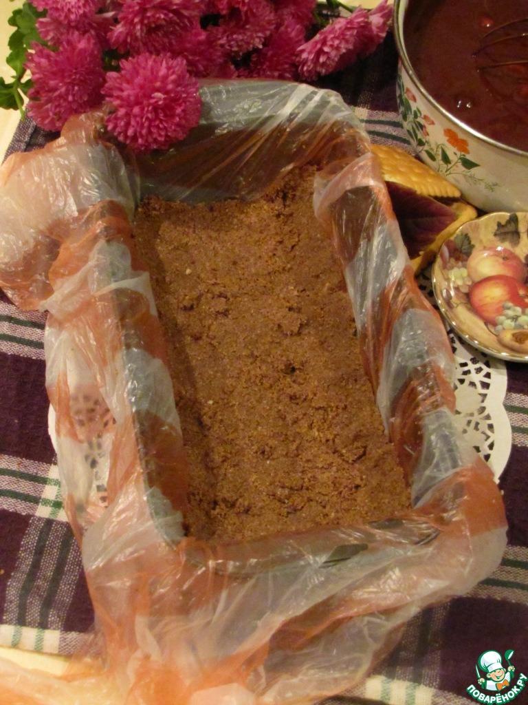 Итальянское шоколадное пирожное с орехами