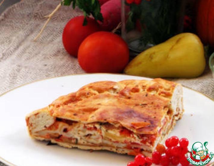 Рецепт: Pizza Chena