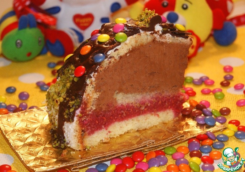 """Торт Зуккотто-""""Детский праздник"""""""
