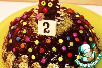 Рецепт: Торт Зуккотто-Детский праздник