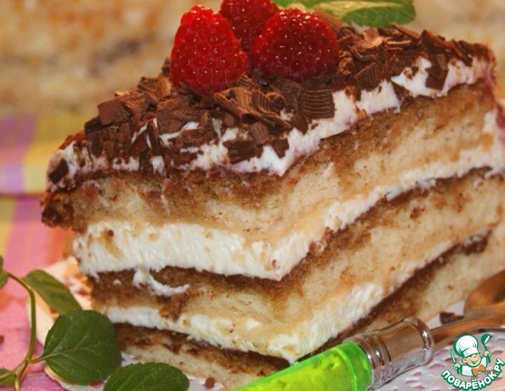 Рецепт: Швейцарский торт