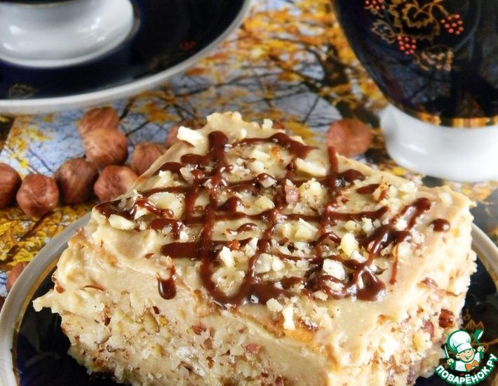 Рецепт: Пирожное Медовая сказка