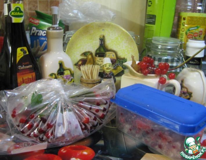 Рецепт: Заготовка для компота, морса