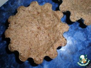 Распредилить тесто по формочкам.Запекать при 200 градусах 20 мин.