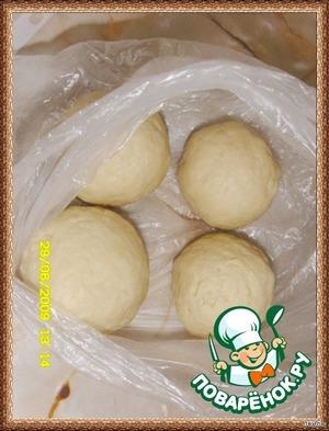 Поделить на 8 шариков, хорошо охладить в холодильнике.