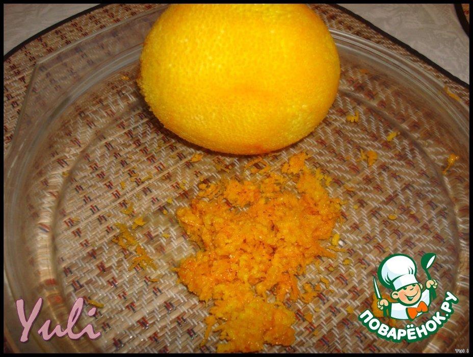 """Творожный десерт с апельсинами """"Нежность"""""""