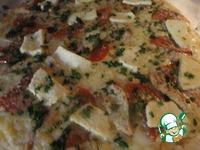 Пицца со сливочным соусом Осенний блюз ингредиенты