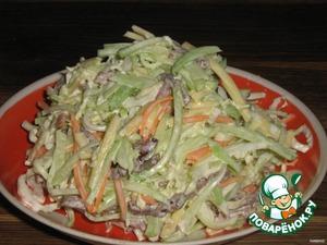 Салат из редьки № – кулинарный рецепт