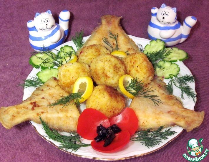 Рецепт: Крокеты рисовые с рыбой