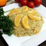 Апельсиново-имбирный рис по-американски