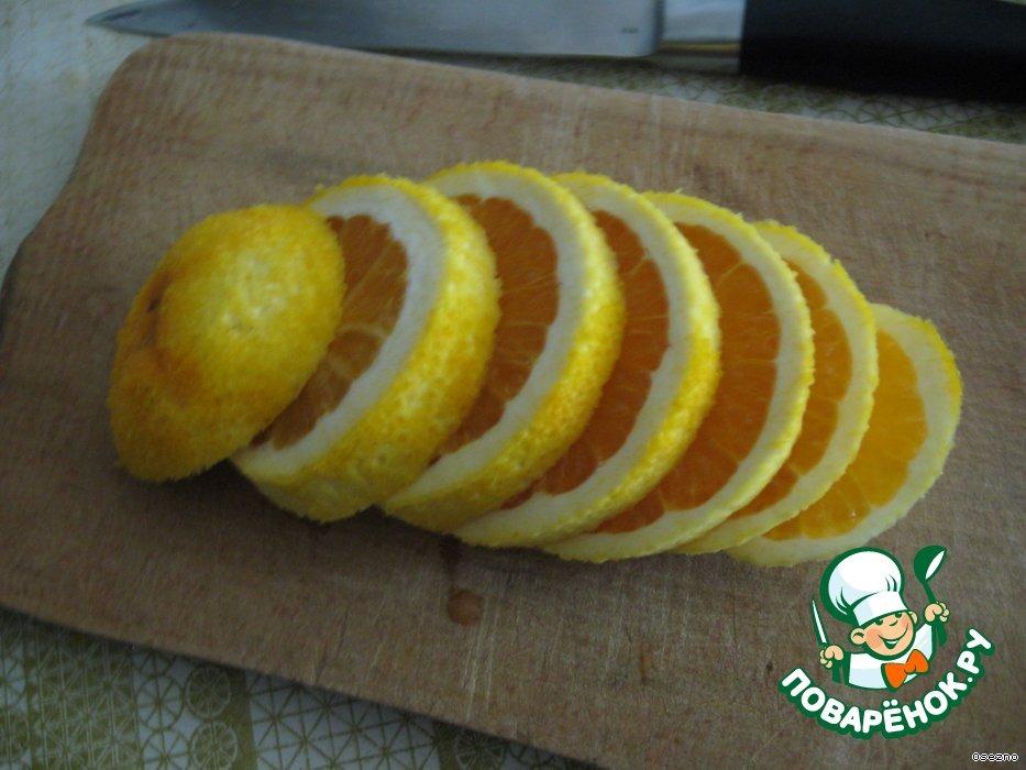 Апельсиновый творожок
