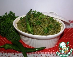 Put the finished dish into a suitable dish, put on top of grilled peppers and can be served on the table.  This rice is good as a standalone dish or as a side dish to meat or fish.  A lot! satisfying! and spicy! - well, so very Mexican.