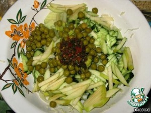 "Салат ""Зеленый"" – кулинарный рецепт"