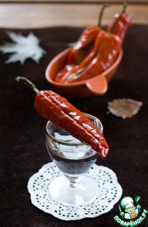 Рецепт: Маринованный перец с сельдью