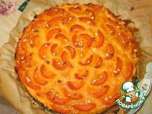 P.S. когда достанете пирог из духовки, дайте ему немного остыть (минут 30), затем аккуратно пройдитесь по краю пирога ножом и снимите форму.      Приятного аппетита!