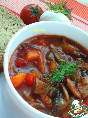 The goulash is perfect baguette with salad or Your favourite side dish.